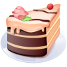 96x96px size png icon of Piece of cake