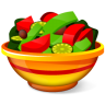 96x96px size png icon of Salad