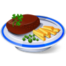 96x96px size png icon of Steak