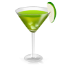 96x96px size png icon of Cocktail Green Agave