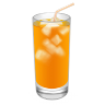 96x96px size png icon of Cocktail Screwdriver Orange