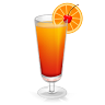 96x96px size png icon of Cocktail Tequila Sunrise