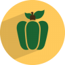 96x96px size png icon of capsicum