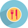 96x96px size png icon of catering