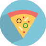 96x96px size png icon of pizza