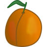 96x96px size png icon of apricot