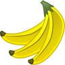 96x96px size png icon of banana