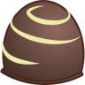 96x96px size png icon of chocolate
