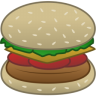 96x96px size png icon of hamburger