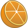 96x96px size png icon of orange