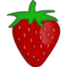 96x96px size png icon of strawberry