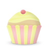 96x96px size png icon of cupcake cake vanilla