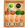 96x96px size png icon of sushi 1