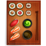 96x96px size png icon of sushi 3