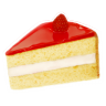 96x96px size png icon of strawberry cake