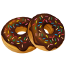 96x96px size png icon of donuts