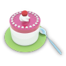 96x96px size png icon of Tea Cake