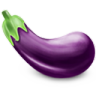 96x96px size png icon of Eggplant