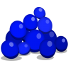 96x96px size png icon of blueberries