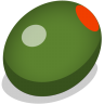 96x96px size png icon of olive