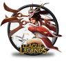96x96px size png icon of Akali Blood Moon