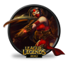 96x96px size png icon of Akali Crimson
