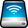 96x96px size png icon of Device External Drive Airport Disk