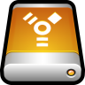 96x96px size png icon of Device External Drive Firewire