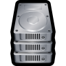 96x96px size png icon of Device Hard Drive Stack