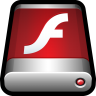 96x96px size png icon of Installer Flash Player