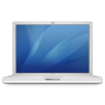 96x96px size png icon of ibook g4 14