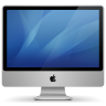 96x96px size png icon of imac aluminum