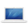 96x96px size png icon of macbook white
