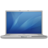 96x96px size png icon of powerbook g4 17
