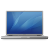 96x96px size png icon of powerbook g4 titanium