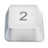96x96px size png icon of 2