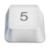 96x96px size png icon of 5