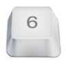 96x96px size png icon of 6
