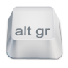 96x96px size png icon of alt gr