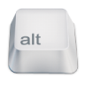 96x96px size png icon of alt