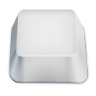 96x96px size png icon of blank keyboard key