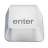 96x96px size png icon of enter