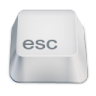 96x96px size png icon of esc