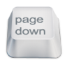 96x96px size png icon of page down