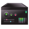 96x96px size png icon of server carbon