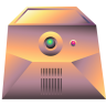 96x96px size png icon of server gold