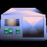 96x96px size png icon of server metallic