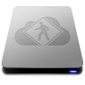 96x96px size png icon of iDisk User Drive