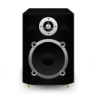 96x96px size png icon of Speaker Black Plastic
