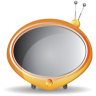 96x96px size png icon of television 06